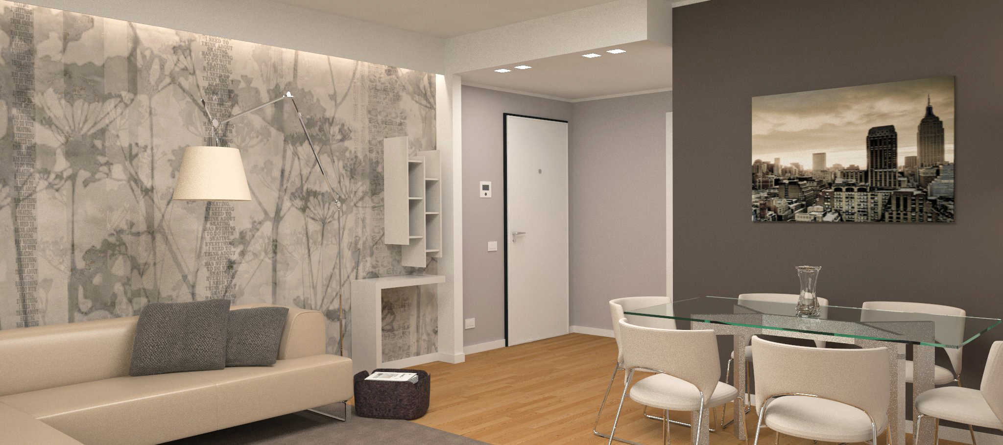 Appartamento privato milano laura lucente architetto for Appartamento design affitto milano