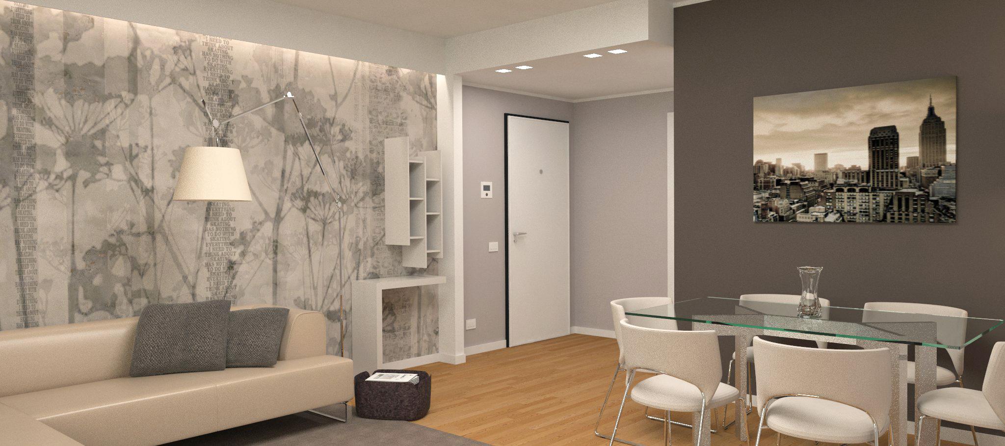 interesting vista ingresso ok with interior design milano